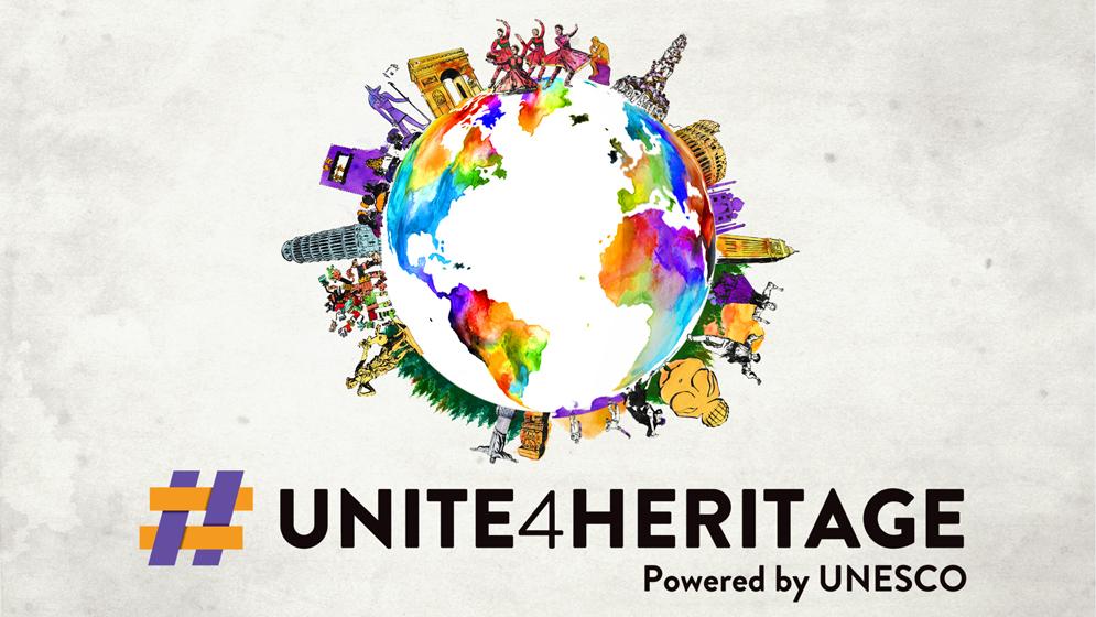 Descubre #UnidosxElPatrimonio, la nueva campaña mundial de la UNESCO
