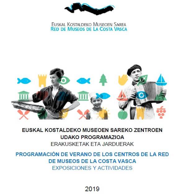 Programación de Verano de los Centros de La Red de Museos de la Costa Vasca